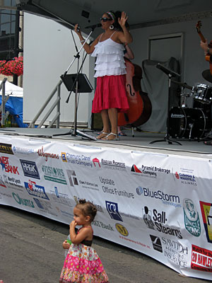 Sponsorships at July Fest and Jazz Festival